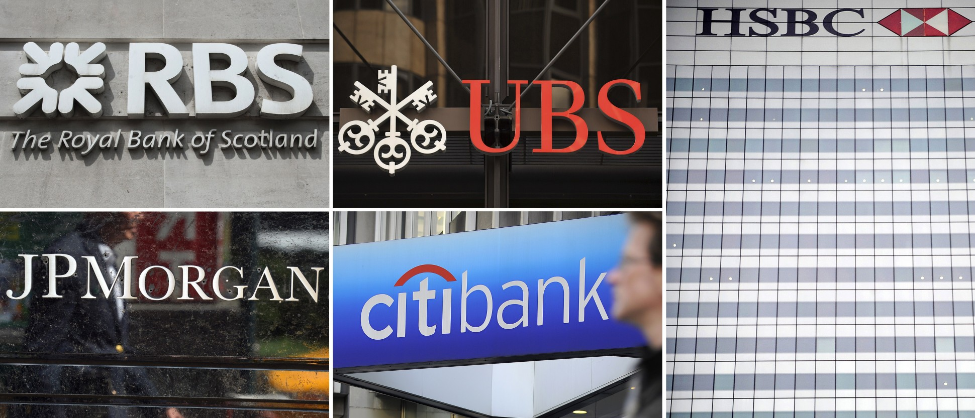 Five Global Banks To Pay 5 7 Billion In Fines Over Rate Rigging