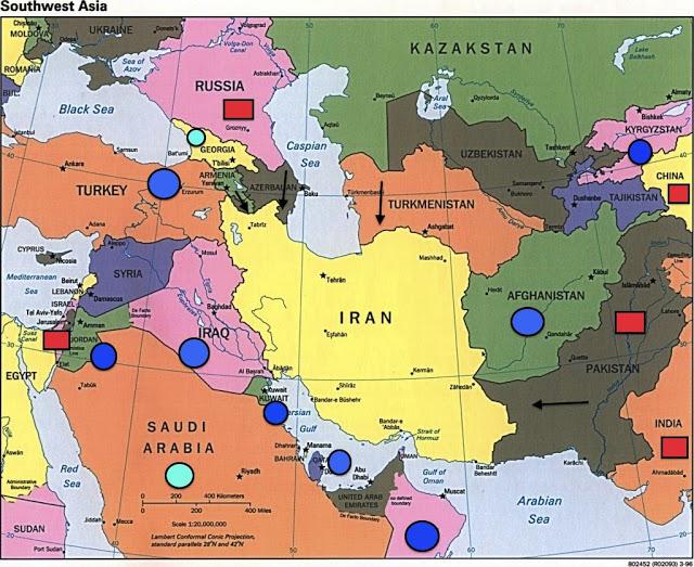 Iran And Iraq Map iran iraq map   GeoPol Intelligence