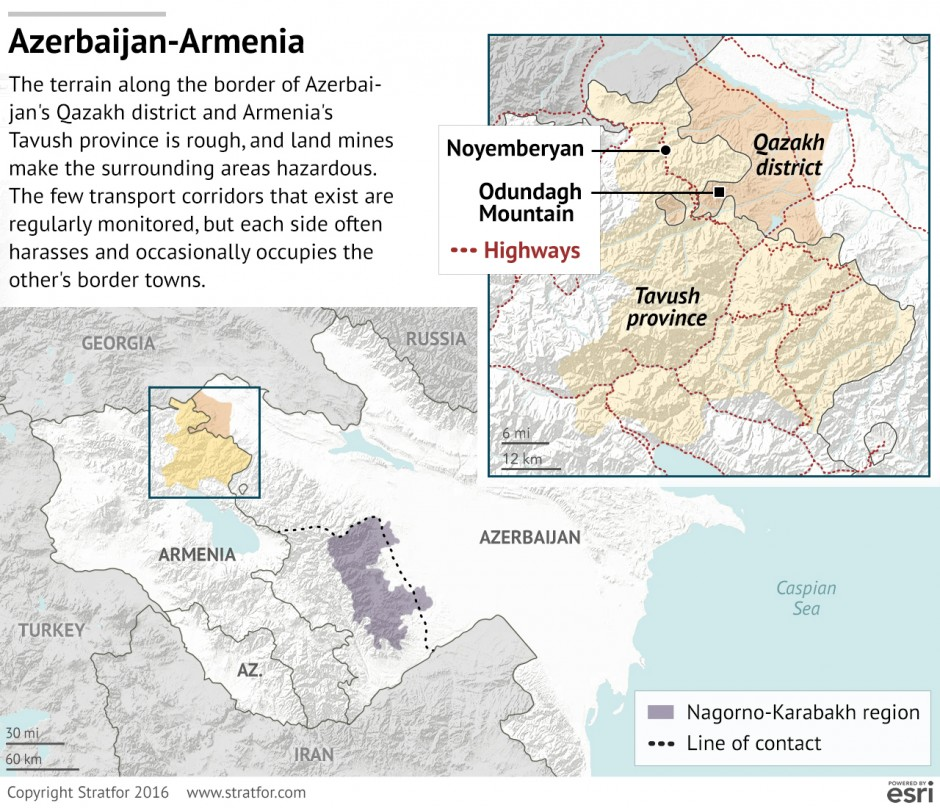Could Clashes in NagornoKarabakh Trigger a Wider Conflict GeoPol