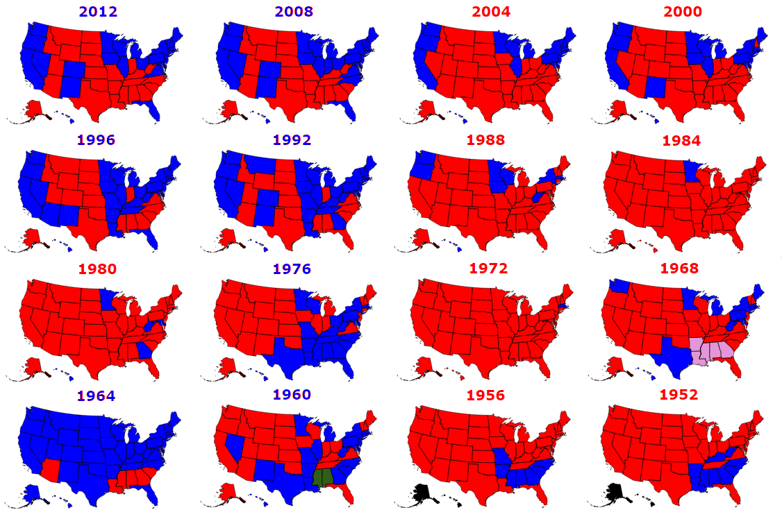Election Maps The US Election Explained US Free Android Apps - Us election heat map